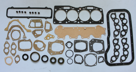 New Fiat X19 X1//9 128 Pair of Exhaust Manifold Gaskets /& Exhaust Pipe Gasket Set