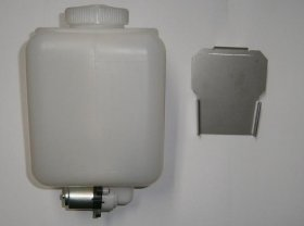 Washer Reservoir Bottle, Fiat 124 Spider, etc - (SKU 88-9325)
