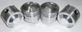 High Compression DOHC Pistons 84.4mm - (SKU 56-0604)