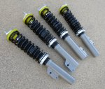 Coilover Kit, Adjustable, Fiat X1/9 & Scorpion - (SKU 62-63XX)