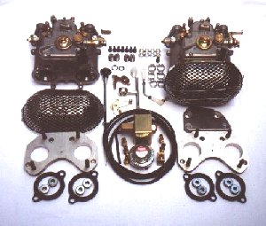 Dual 40 DCOE Weber Conversion Kit - 4 Cyl Alfas (SKU 30-0800)