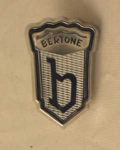 Bertone Side Emblem - (SKU 81-4338)