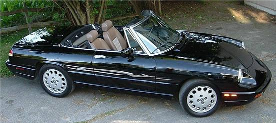 Alfa Romeo Spider Parts
