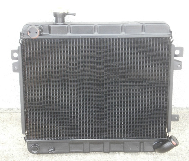 Radiator NEW 1974-78, Fiat 124 - (SKU 11-2318)