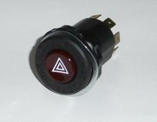 Hazard Switch, Fiat & Alfa - (SKU 19-9380)