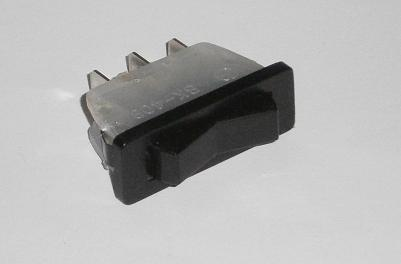 Heater Fan Switch, Fiat 124 (Spider, etc) - (SKU 43-4318)