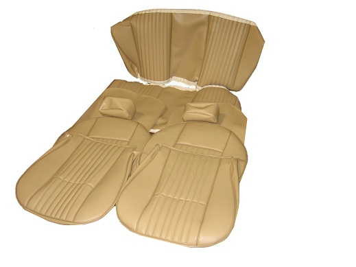 Full Upholstery Set, FIAT 124 1971-78 TAN - (SKU 50-1314-T)