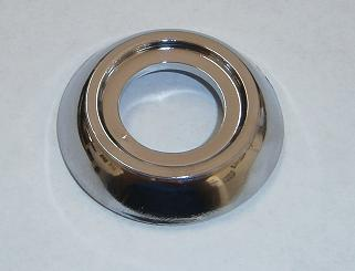 Window Handle Trim Ring Chrome, Fiat 124 (etc)- (SKU 50-7072-C)