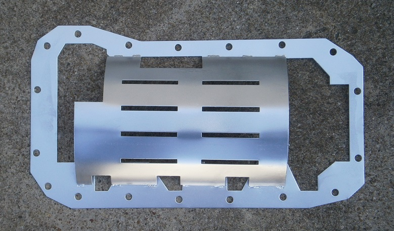 2.0 Liter Oil Pan Baffle - (SKU 54-4379)
