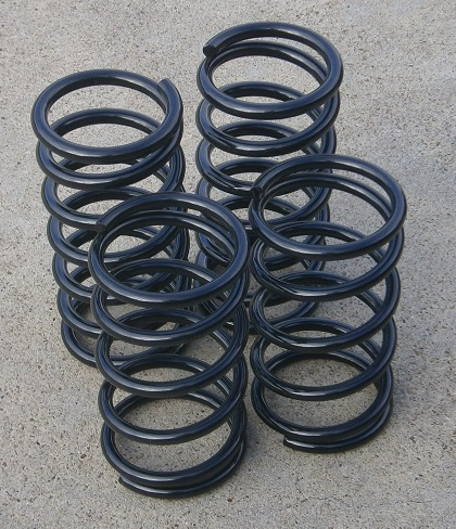 Performance Springs BLACK, Fiat X1/9 - (SKU 62-5319-BK)