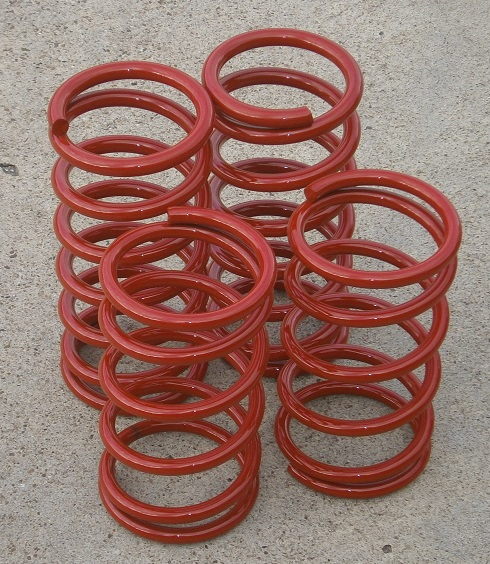Performance Springs RED, Fiat X1/9 - (SKU 62-5319-RD)
