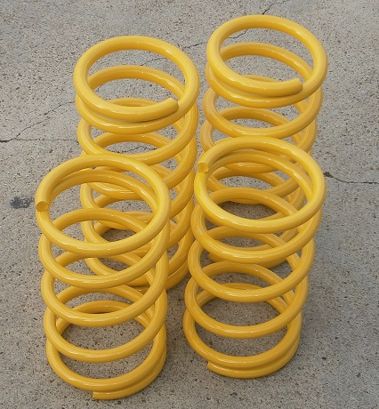 Performance Springs YELLOW, Fiat X1/9 - (SKU 62-5319)