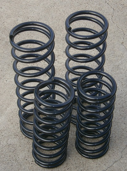 Performance Springs BLACK, Fiat 124/2000 - (SKU 62-5324-BK)