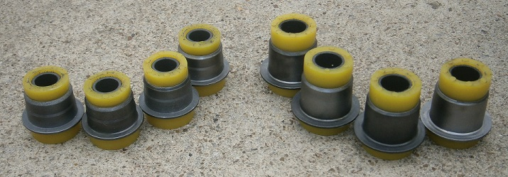 A-Arm Polyurethane Bushing Set, Fiat 124 - (SKU 63-5327)