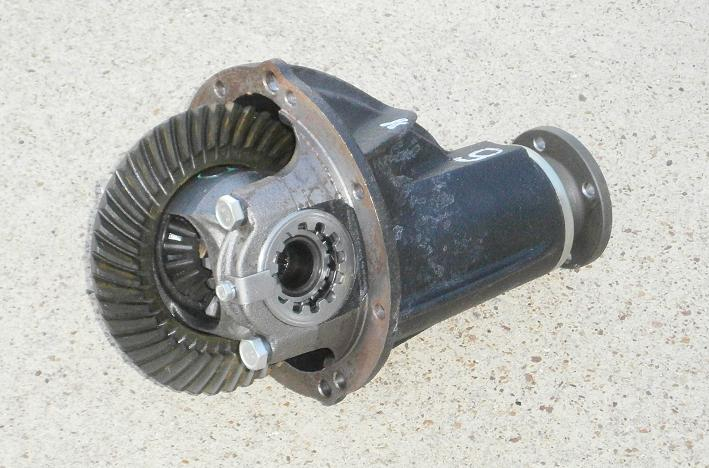 3.90 Differential Pumpkin, Fiat 124 - (SKU 76-8371)