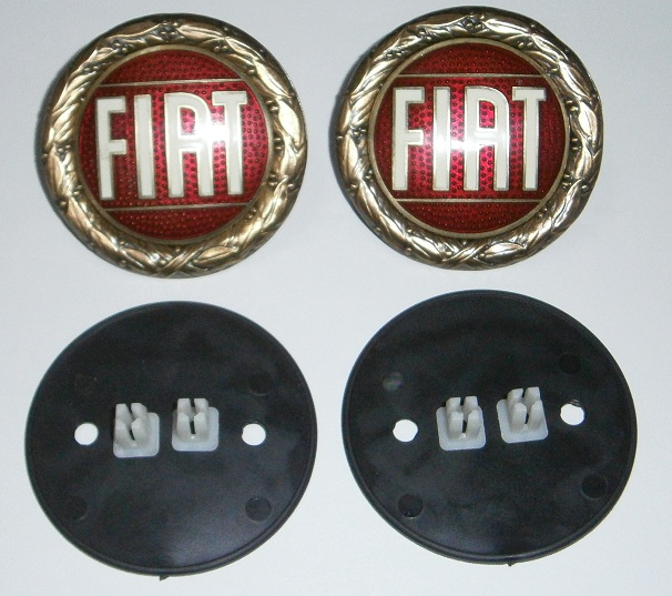 FIAT Emblem KIT - Bronze 57mm - (SKU 81-4312-KIT)