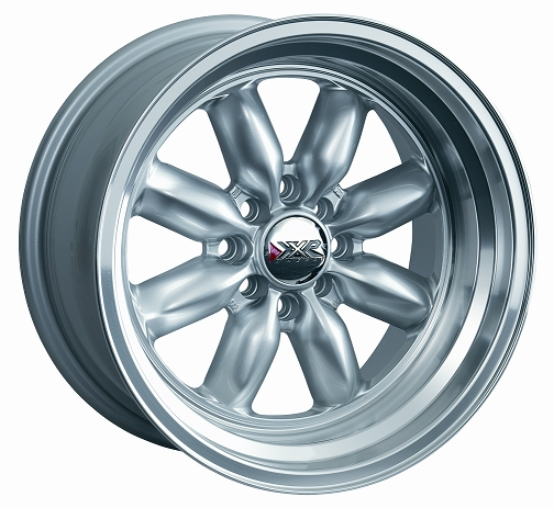 ROADSTER Silver 15x7 Wheels Set, Fiat 124 - (SKU 85-5130-F)
