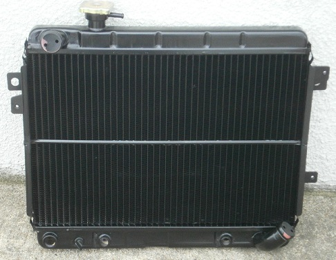 Radiator NEW 1979-85, Fiat 2000 Auto - (SKU 11-2303-AUTO)