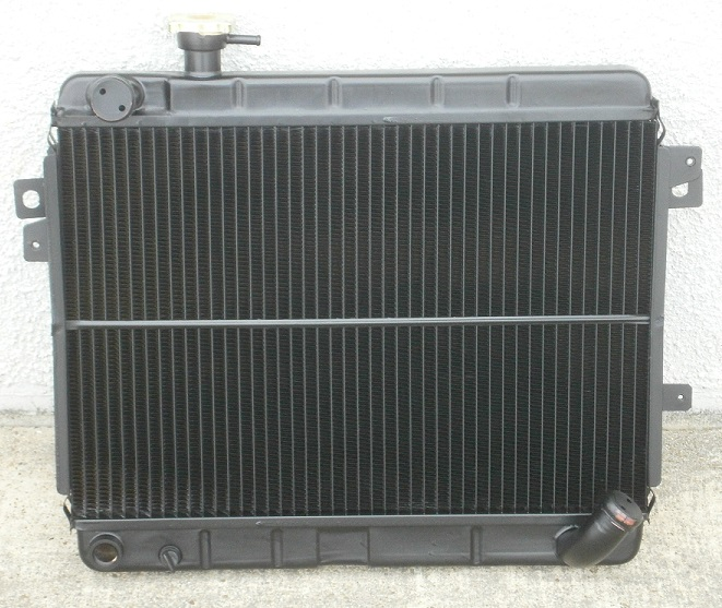 Radiator NEW 1980-85, Fiat 124/2000 - (SKU 11-2303)